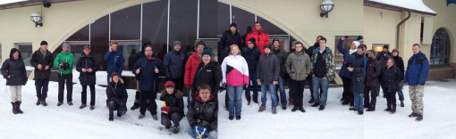 Gävle area cachers at the 12-12-12 event.