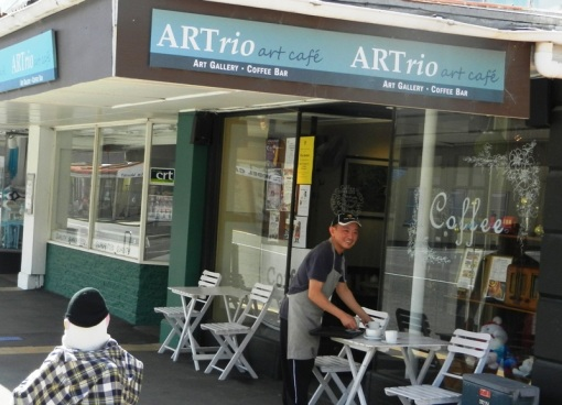 ARTrio cafe in Waimato