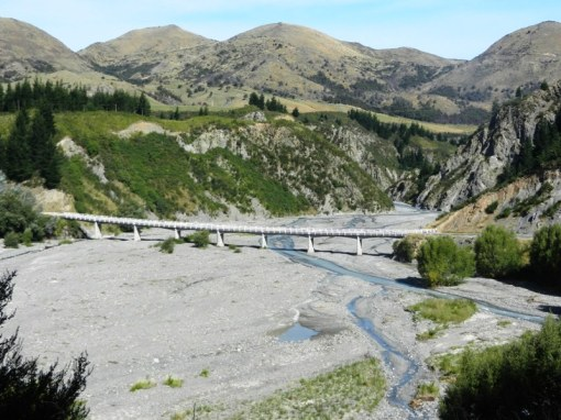 Brige over the River Waiau
