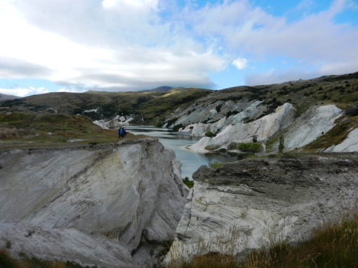 Remains of gold mining at St. Bathans