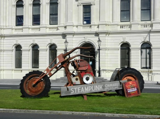 Steampunk in Oamaru