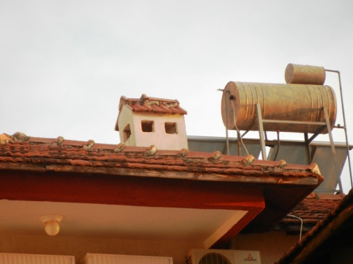 Water heaters and chimney