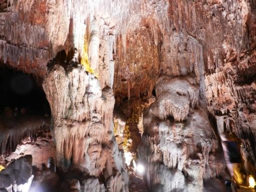 Stalagtites & stalagmites in Damlatas Magarisi