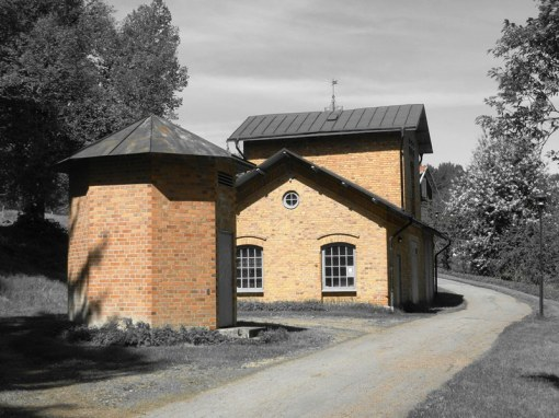 The old water works in Hedemora look as though they came from Russia