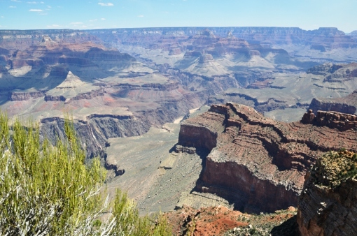 Grand Canyon - Colorado River in the distance