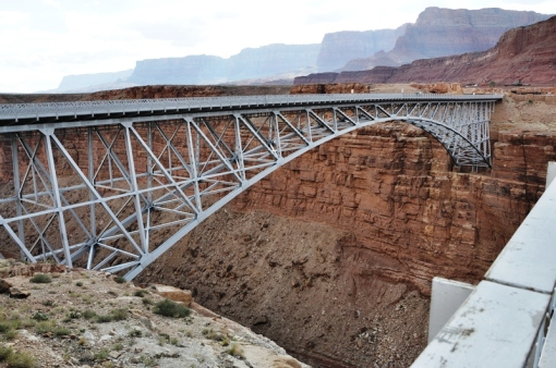 New Navajo bridge