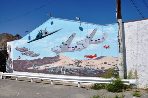 Mural at Walker Lane Tonopah