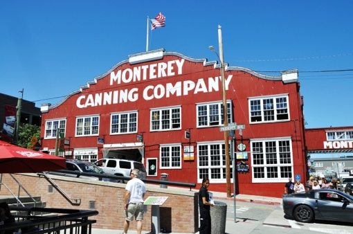 Monterey - Cannery Row, made imortal in John Steinbacks novels