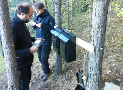 Madchicken72 and Slas logging the find of Da Vinci-koden
