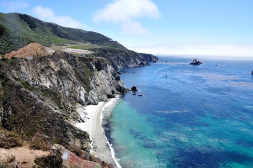 Highway 1 just south of Bixby Bridge