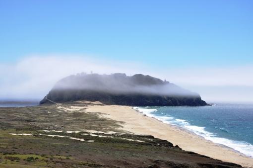 Highway 1 island