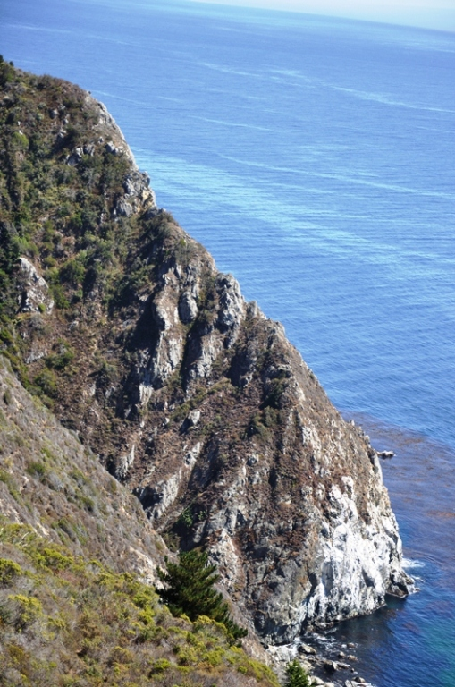 Highway 1 cliffs