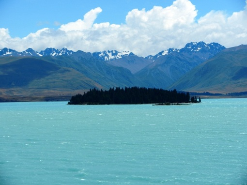 Lake Tekapo close to the Matagouri Challenge