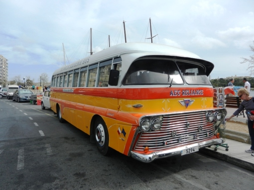 A bus in the old colours