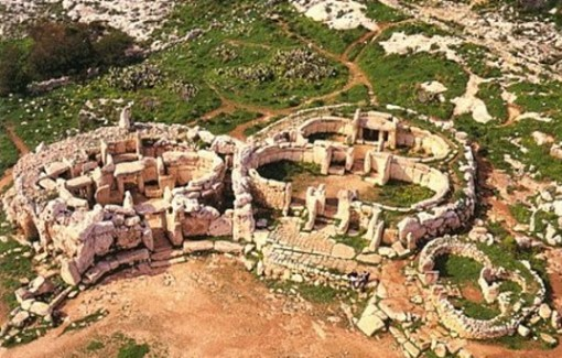 Mnajdra from above