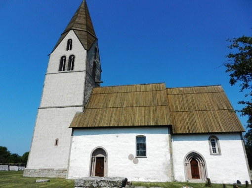 Another of the many churches on Gotland
