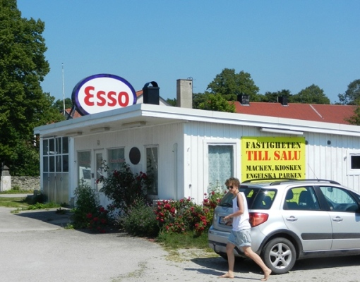 Esso garages disappeared decades ago
