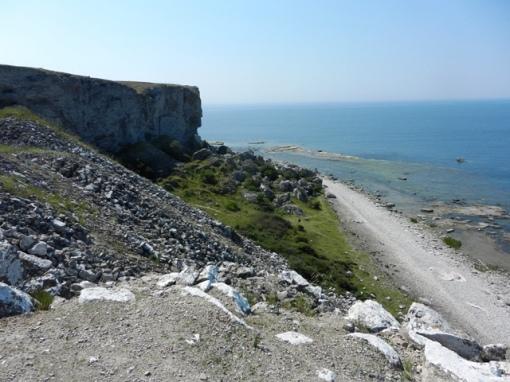 Cliffs at Hoburgen