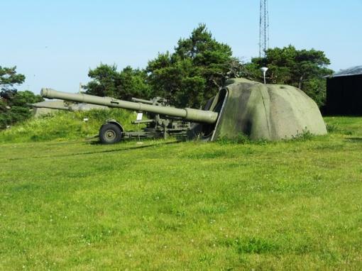 Artillery at the KA3 museum