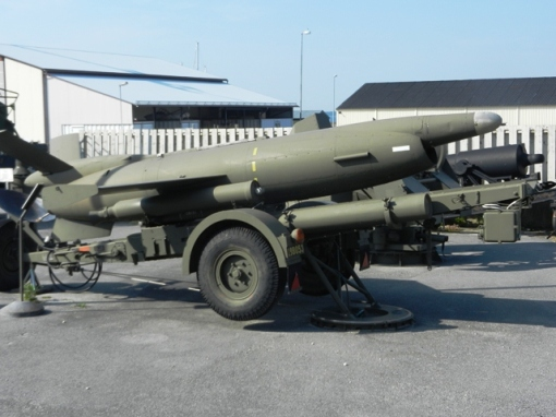Old ground to air missile at KA3 museum