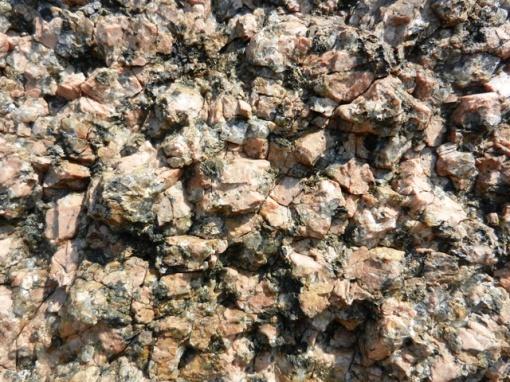 Rapakivi granite is known for it's self erosion