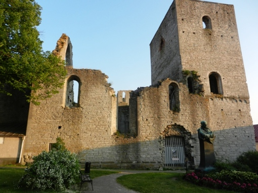 Ruins of St. Görans church in Visby