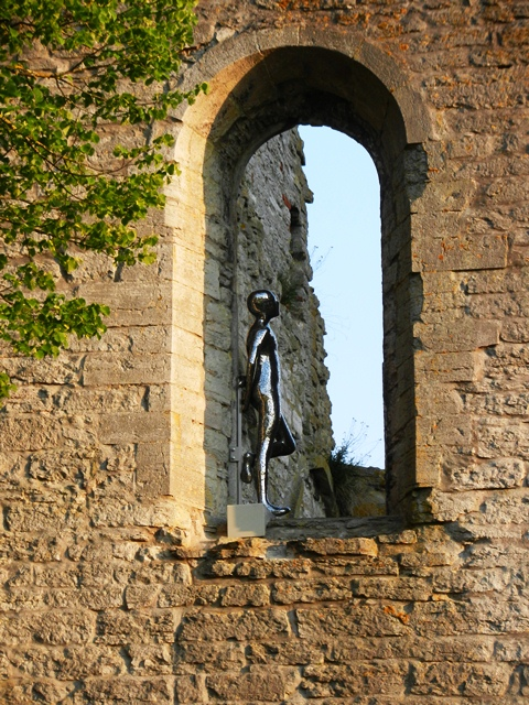 Is this St Göran watching over his ruins?