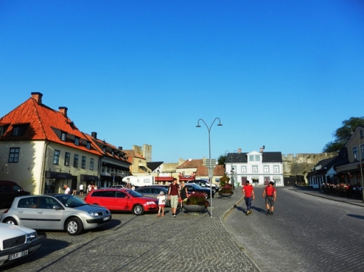 One of the squares in Visby