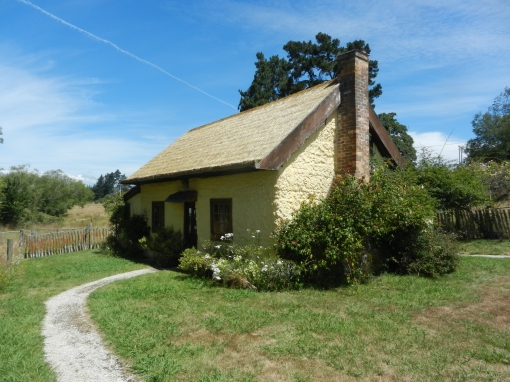 Settler's cottage exterior