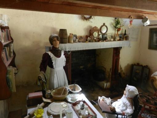 Settler's cottage interior