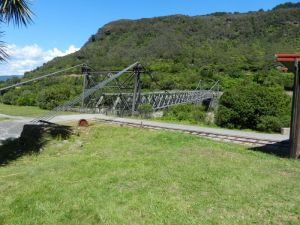 Brunner mine bridge