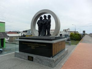 Tribute to the West Coast Miners unveiled in 2011
