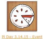 Pi Day Event Souvenir
