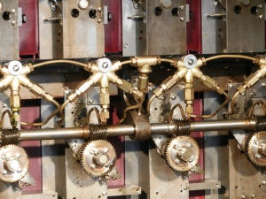 "Details of the lubrication system in the electromechanical ""Bombe"""