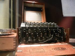 An Enigma machine