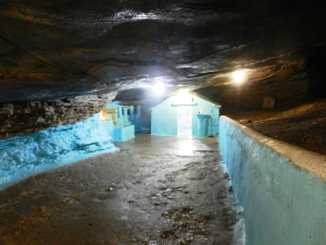 The wee underground chapel