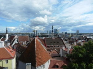 View over Tallin old town 2015