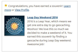 Leap Day Weekend 2016