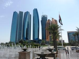 Abu Dhabi high rises