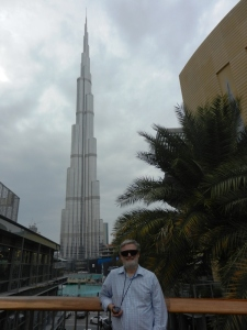 ds8300 at Burj Kahlifa - the worlds tallest building at 818 meters