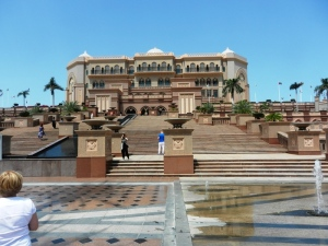 Emirates Palace Hotel - another seven star hotel