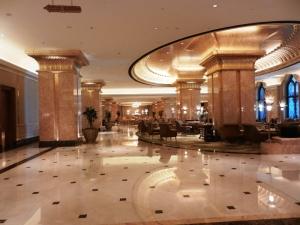 Hotel Emirates Palace lobby