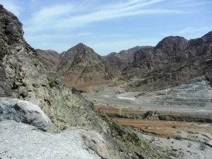 Hajar Mountains eastern UAE