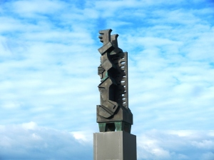 Sculpture at Höfði