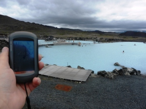 Hot baths at Myvatn