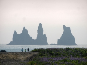 The rock formation Reynisdrangar.