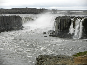 Selfoss - somewhat smaller than Dettifoss