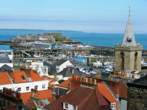 "View over St Peter Port from ""Rooftop View"""