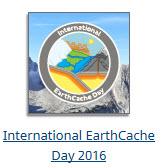 International Earthcache Day 21016 souvenir
